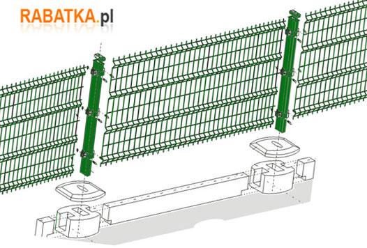 Montaż płotu panelowego