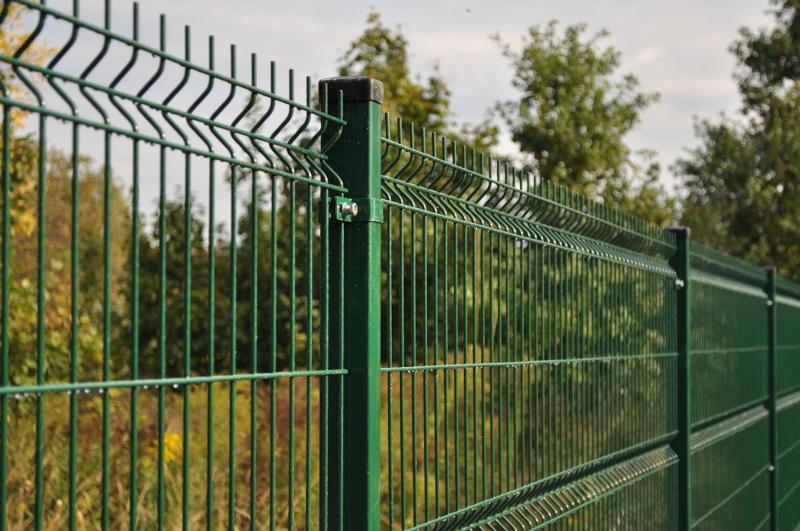 Panel ogrodzeniowy powlekany